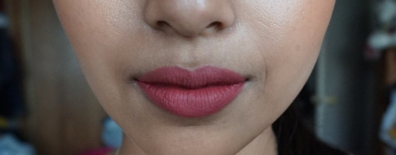 colour pop ultra matte liquid lipstick bumble NC42
