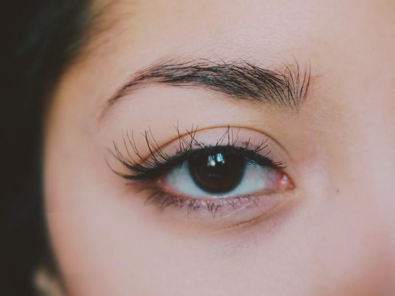 false eyelash tutorial red cherry lashes WSP