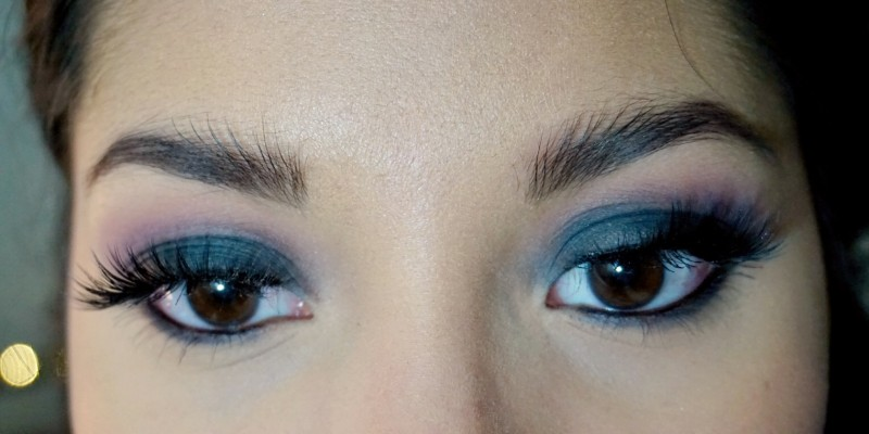 classic smokey eye blue nc40 tutorial girl and vanity petal pusher vintage nyx black bean blended house of lashes boudoir
