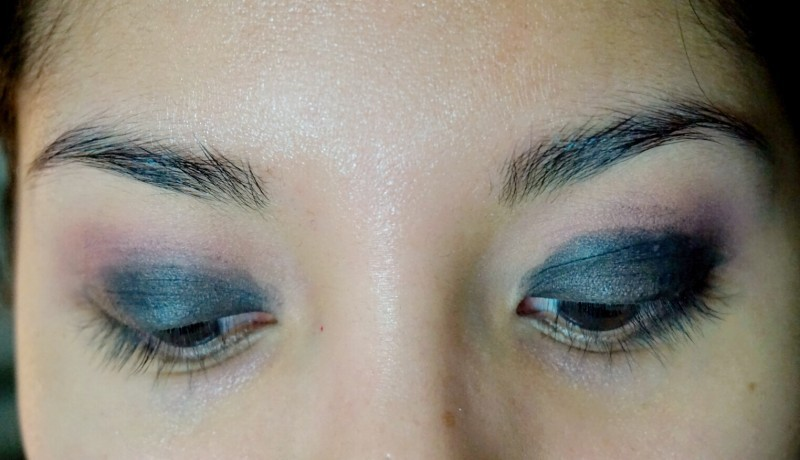 classic smokey eye blue nc40 tutorial girl and vanity petal pusher vintage nyx black bean