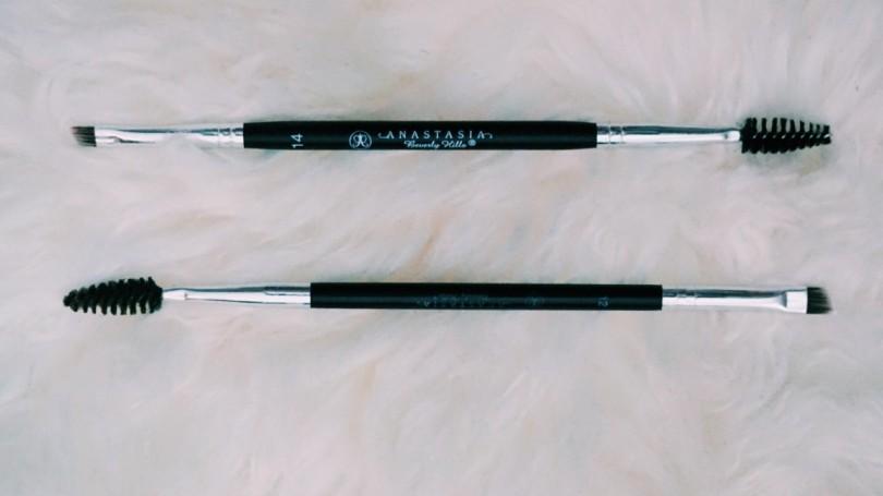 Anastasia Beverly Hills Brow Brush 12 Vs Brush 14 Girl Vanity