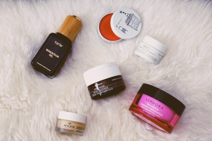 Girl & Vanity Girl and Vanity Winter Skincare routine Dinoplatz Pinky Pie Kiehl's Creamy Eye Treatment Korres Wild Rose 24 Hour cream Tarte Maracuja Oil Sephora Intensive instant Moisturizer nuxe reve de miel