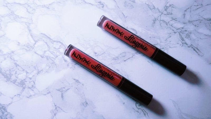 nyx lip lingerie exotic nc40 nyx lip lingerie ruffle trim nc40