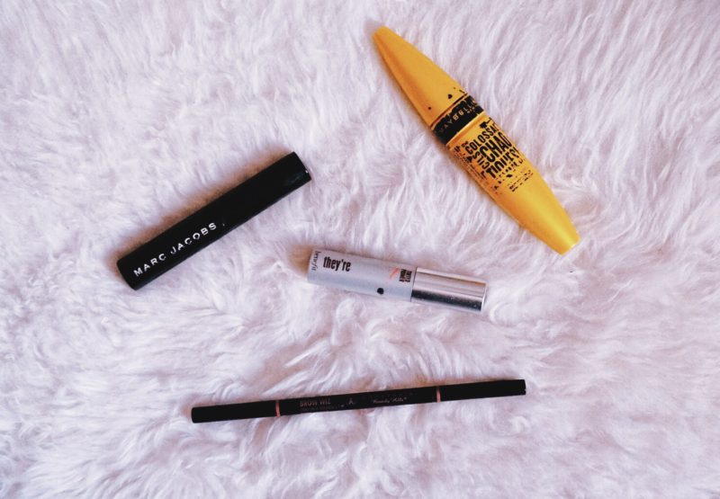 empties may 2016 marc jacobs velvet noir mascara review maybelline chaotic mascara review benefit they're real primer review anastasia beverly hills brow wiz dark brown review