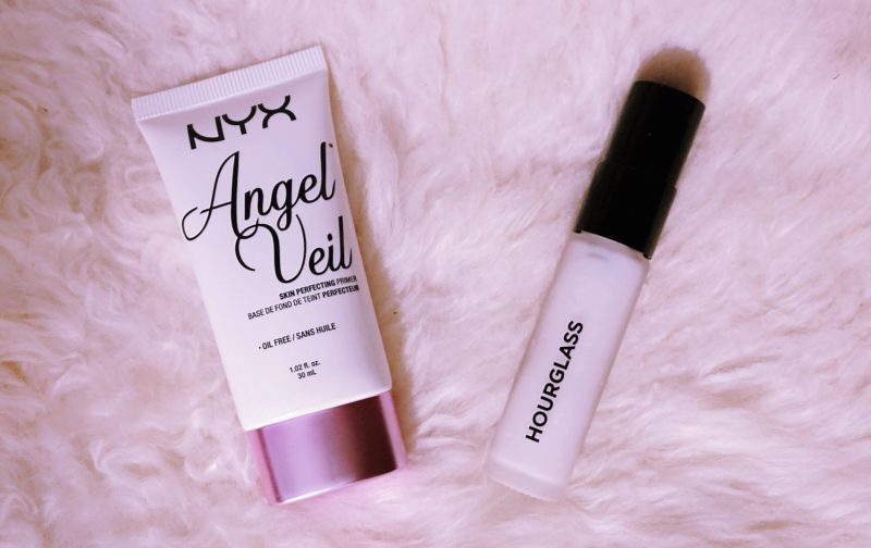 hourglass veil mineral primer vs nyx angel veil primer